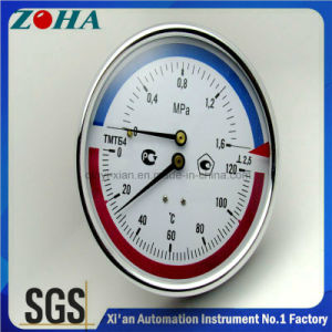 Multitype Combination Pressure and Temperature Gauge pictures & photos