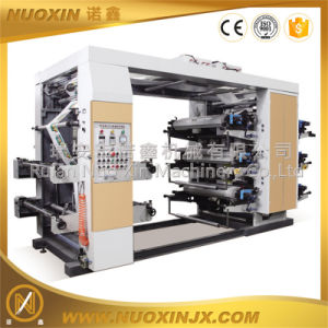 Six Colour Flexographic Printing Machine (NuoXin) pictures & photos