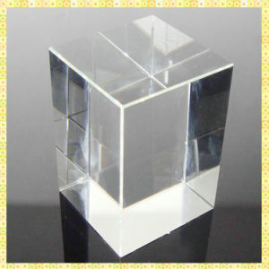 Wholesale K9 Blank Crystal Glass Block Cube Crystal Paperweight pictures & photos