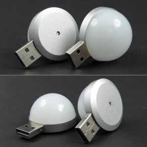Mini 4 LED Bulb Light Lamp Attached on Any USB Port pictures & photos