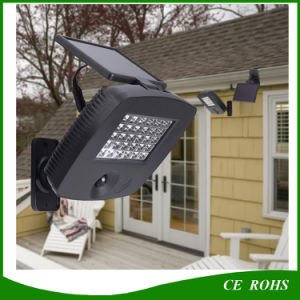 Outdoor Garden 30 LED Solar Garage Light with PIR Motion Sensor pictures & photos