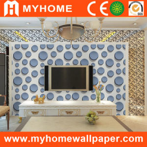 TV Background Living Room 3D Wall Paper with Waterproof pictures & photos