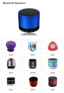 Custom Logo Mini Wirelss Portable Mini LED Light Bluetooth Speaker pictures & photos