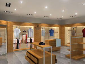Women′s Clothing Shop Interior Design pictures & photos