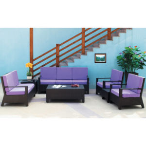 Outdoor Garden Rattan Stackable Sofa Set (WS-15592) pictures & photos