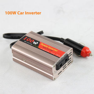 DC12V/24V Solar Car Power Inverters 100watt AC220V pictures & photos