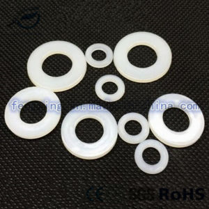 Clear White Black Nylon Plastic Flat Washer