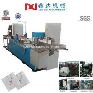 Automatic Printing Serviette Paper Machine to Embossed Folder Tissue Napkin Manufacturer pictures & photos