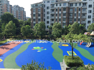 EPDM Granules Rubber Floor for Kids Playground pictures & photos