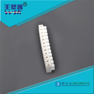 10 Pins Plastic White Nylon PA66 Terminal Block Wire Connector Wsk-Tb010 pictures & photos