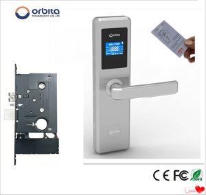 Orbita Hotel RF Card Electronic Door Lock pictures & photos
