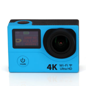 2016 New 30m Waterproof HD 4k 2.4G Controller Outdoor WiFi Sport Action Camera pictures & photos