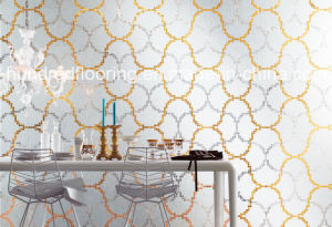 Glass Mosaic Pattern Wall Tile (HMP854) pictures & photos