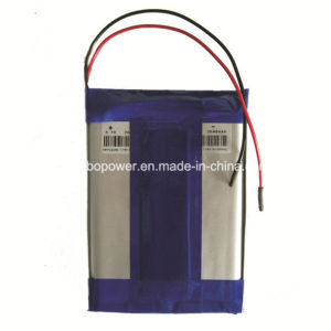 3.7V Lipo Rechargeable Lithium Battery with PCB pictures & photos