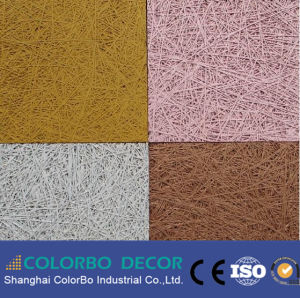 Acoustic Sound Insulation Wood Wool Fiber Cement Nterior Wall Panels pictures & photos