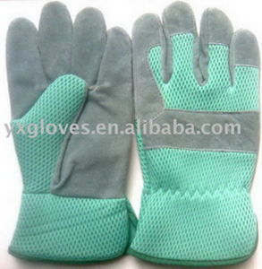 Split Leather Glove-Garden Glove-Safety Glove-Working Glove pictures & photos
