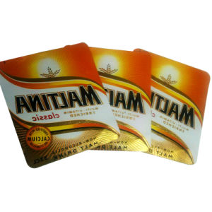68-71GSM Metallized Beer Label pictures & photos