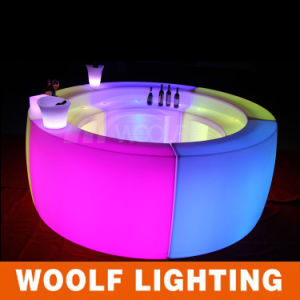 LED Furniture Party Glow Lighted Bar Table pictures & photos
