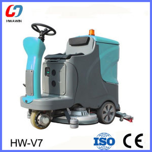 Electric Floor Scrubber Vacuum Cleaner (HW-V7) pictures & photos