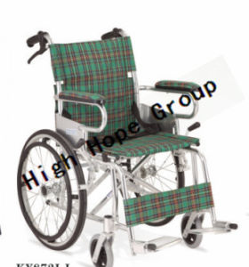 High Hope Medical - Aluminium Alloy Manual Wheelchair-Ky872lj pictures & photos