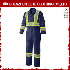 High Visibility Safety Suits Reflective Workwear Cotton Coverall (ELTHVCI-13) pictures & photos