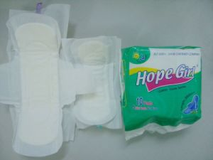 China High Quality Cotton Menstrual Pads, Female Sanitary Napkins pictures & photos