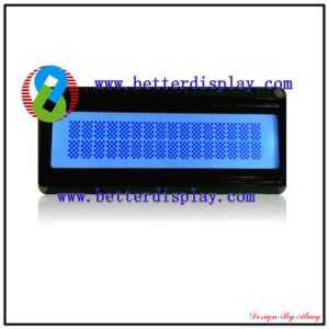 LCD LCM Stn Blue Standard Character Modules pictures & photos