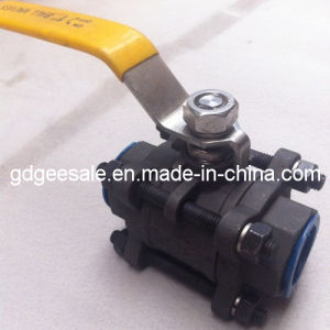 3-PC Ball Valve (With Mounting Flanged) pictures & photos