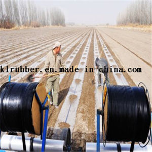 16mm Double Blue Line Irrigation Drip Tape for Agriculture pictures & photos