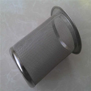 304 316 Stainless Steel Wire Mesh Filter Tube/ Basket/Cylinder pictures & photos