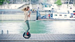 Electric Standing up Motorized Unicycle