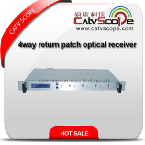 High Quality Low Cost Indoor 4way Return Path Optical Receiver pictures & photos