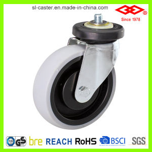 100mm PP Hub TPR Wheel Caster for Trolley (G140-39E100X30) pictures & photos