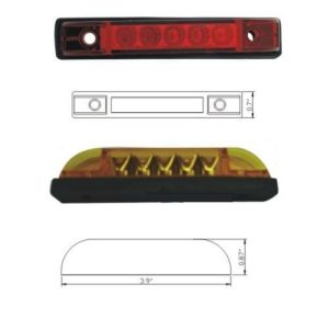 LED Clearance/Side Marker Light for Truck Trailers pictures & photos