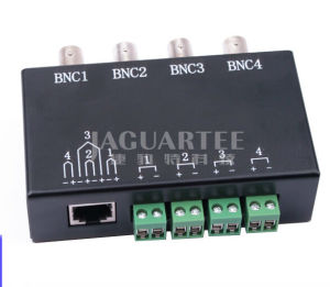 Passive Cat5 Video UTP Balun for CCTV Cable with BNC Connector