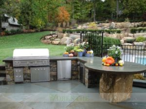 304 Stainless Steel Outdoor Kitchen with BBQ (WH-KO062)