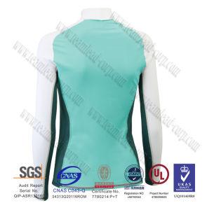 Womens Long Sleeve Rashguard Swimwear Upf 50+ Sun Protective pictures & photos