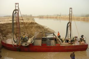 150t Sand Suction Carrier Barge pictures & photos