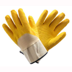 (LG-021) 13t Latex Coated Labor Protective Safety Work Gloves pictures & photos