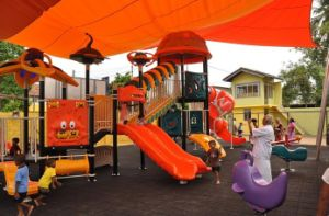 (Featured!) Kaiqi Small Futuristic Series Outdoor Children′s Playground - Customisation Available (KQ10081A) pictures & photos