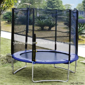 Yongkang Nj Cheap Trampolines with Safety pictures & photos