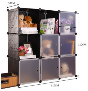DIY Storage Cube, Can Hold Toys and Books, Wall Cube Storage, Home Storage (FH-AL0033-6) pictures & photos