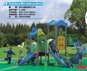 2014 Hot Selling Outdoor Children Amusment Playground Slide with TUV Certificate (QQ-MN006) pictures & photos