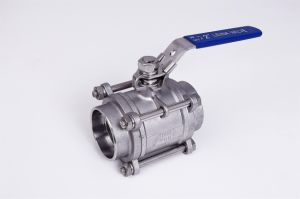 3PC Heavy Type 1000wog Ball Valve pictures & photos