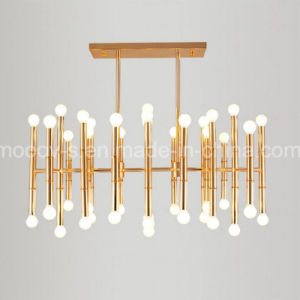 Northern Europe Bamboo Joint Steel Pipe Pendant Lamp for Dining Room pictures & photos