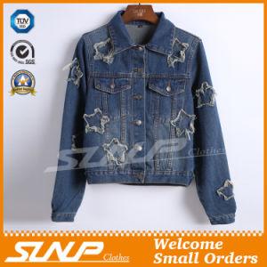 Women Top Jeans Coat Denim Jacket Wholesale Clothes