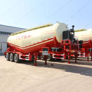 3 Axle 30t Tank/Tanker Semi Trailer for Transportation Bulk Cement pictures & photos