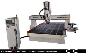 4 Axis CNC Router with Automatic Tool Change