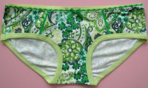 China Girl Panty with Printings pictures & photos