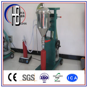 6-12kg/Min Semi-Automatic Fire Extinguisher Powder Filling Machine pictures & photos